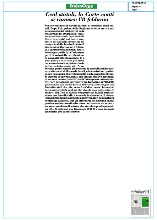 Ccnl-statali,-la-Corte-dei-conti-si-riunisce-l'8-febbraio--ITALIA-OGGI