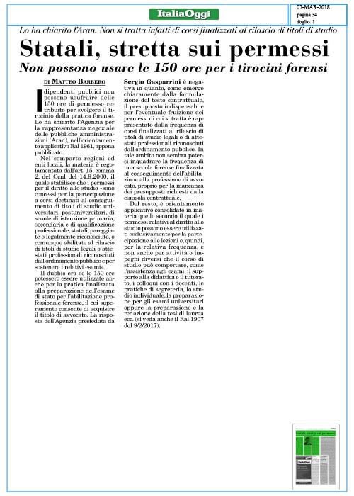 Statali,-stretta-sui-permessi-ITALIA-OGGI