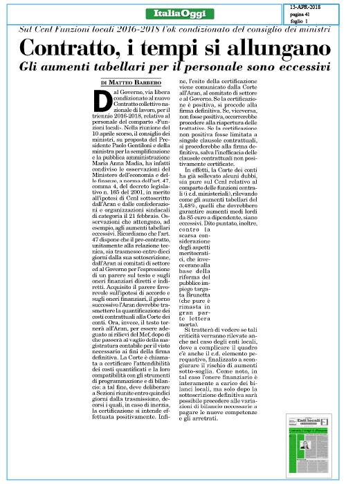Contratto,-i-tempi-si-allungano--ITALIA-OGGI